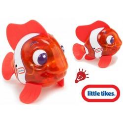 LITTLE TIKES Rybka do kąpieli świecąca i pływająca czerwona