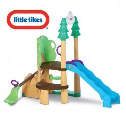 Little Tikes Plac Zabaw 3 w 1 Zjeżdżalnia Huśtawka Wspinaczka