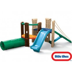 Little tikes Przeplotnia Plac Zabaw Zjeżdżalnia