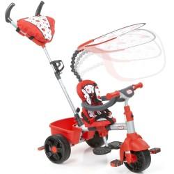 Little Tikes Sterowany Rączką Rowerek trójkołowy 4w1 z Daszkiem Sport