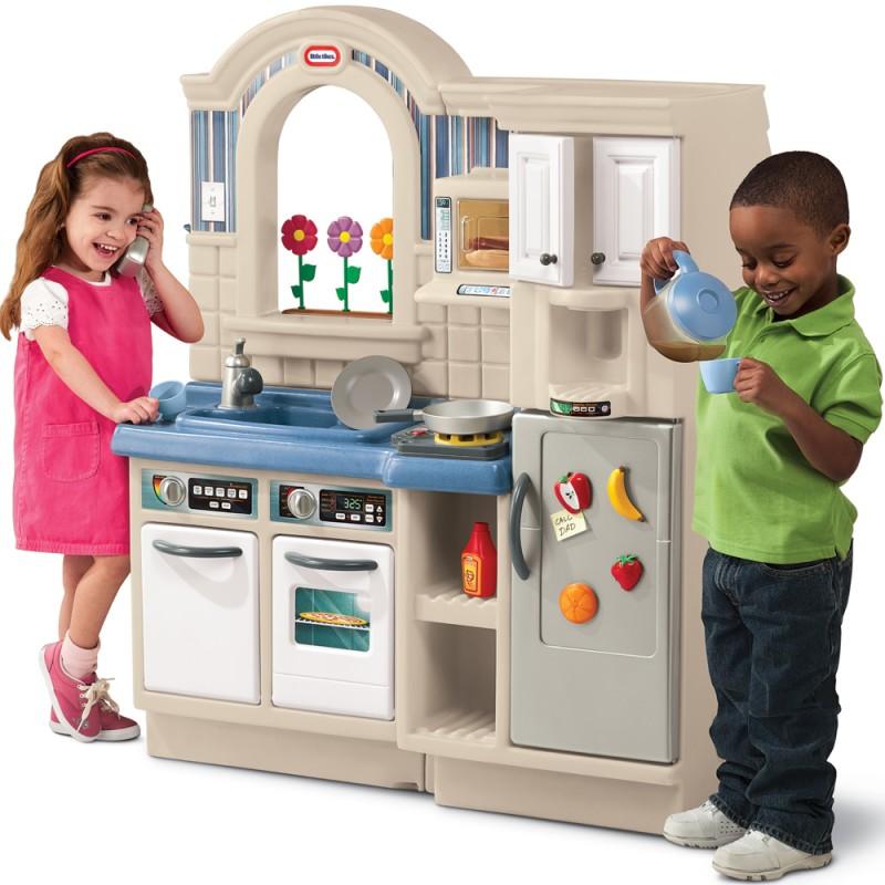 Kuchnia szefa dla dzieci z grillem Little tikes -> Muzyczna Kuchnia Little Tikes