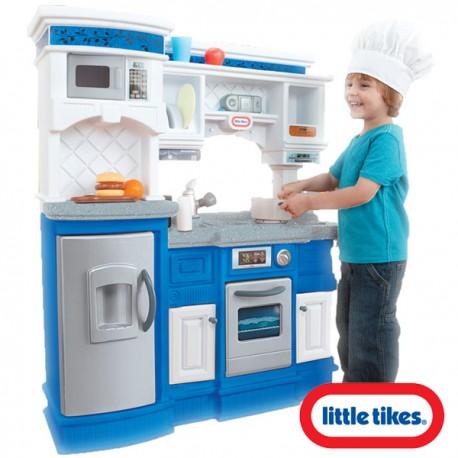 Little Tikes Kuchnia Smakosza Piekarnik Lodówka Zlewozmywak 19 Akc