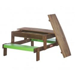 Little Tikes  Drewniany Stolik Piaskownica 2 w 1