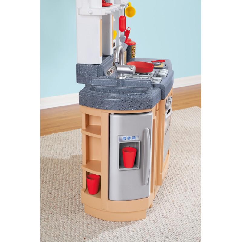 Duża Elektroniczna Obracana Kuchnia Z Wózkiem Little Tikes