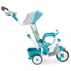 LITTLE TIKES Rowerek TRÓJKOŁOWY Sterowany niebieski + szary CICHE KOŁA