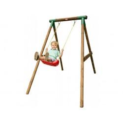Drewniany zestaw huśtawka Milano Little Tikes na plac zabaw