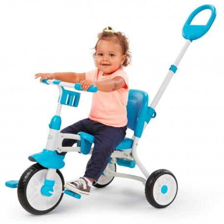 Trójkołowy rowerek Little Tikes Spakuj i Jedź składany ciche koła