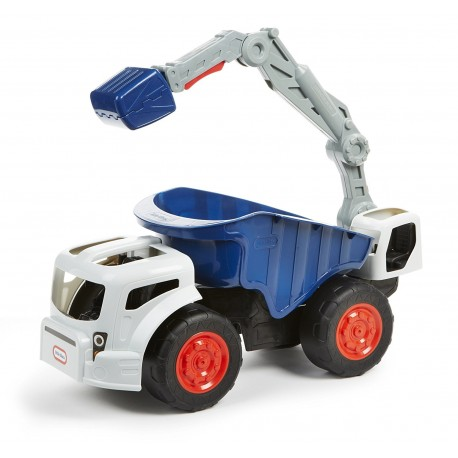 Little Tikes mega Koparka monster Dirt Digger wywrotka