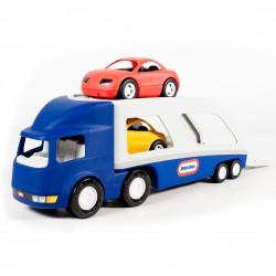 Little tikes Duża naczepa laweta do przewozu samochodów