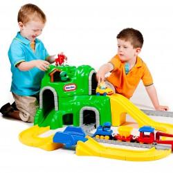 Little tikes Zestaw dróg i szyn kolejka, pociąg Idealny do przedszkola!
