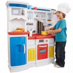 LITTLE TIKES Kuchnia Smakosza piekarnik lodówka zlewozmywak 17 akc.