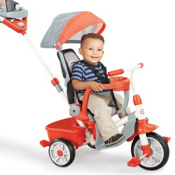 Rowerek Trójkołowy dla dzieci 5w1 Little Tikes Ciche Koła