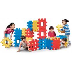 Little Tikes Duże Klocki 18 Elementów Wafle Gigant Dla Dzieci