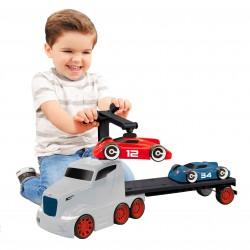 Laweta Do Przewozu Aut Little Tikes + 2 Samochodziki Na Magnes