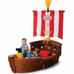 Łóżko z Materacem Statek Piracki Dla Dzieci Little Tikes